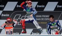 Lorenzo domina a Jerez Rossi 3° dietro Marquez   ft