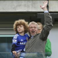 Chelsea, la festa di Abramovich con il figlio