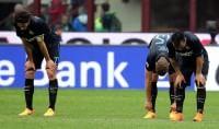"""Inter, Europa distante   foto     Mancini : """"E' mancato gol"""""""