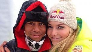 Lindsey-Tiger, l'amore è finito L'annuncio  della sciatrice  su Fb