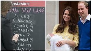 Oggi il nome della Royal Baby    vd     D / Foto  Kate in forma dopo 6 ore    Leggi   -   George   -   Prime pagine