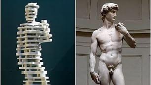 Il classico e il contemporaneo I due David a confronto