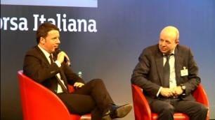 Renzi incontra l'alta finanza La domanda è su buche in strada