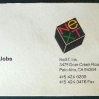 Apple, Pixar e Next. All'asta i biglietti da visita di Steve Jobs