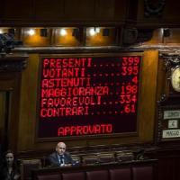 Italicum è legge, via libera della Camera: 334 sì. Opposizioni fuori, parte della...