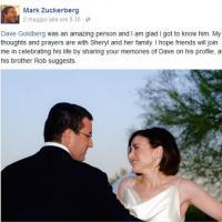Messico, David Goldberg morto per malore: il ricordo di Mark Zuckerberg