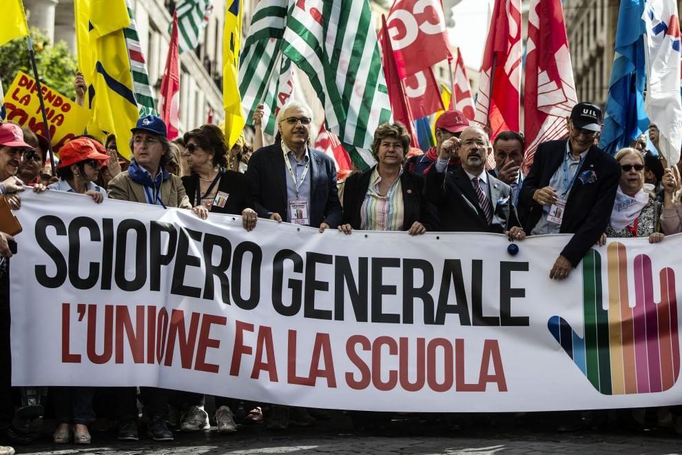 No alla ''buona scuola'', proteste in tutta Italia: il fotoracconto