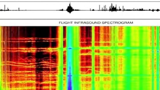 Suono misterioso registrato a 36 chilometri dalla superficie terrestre