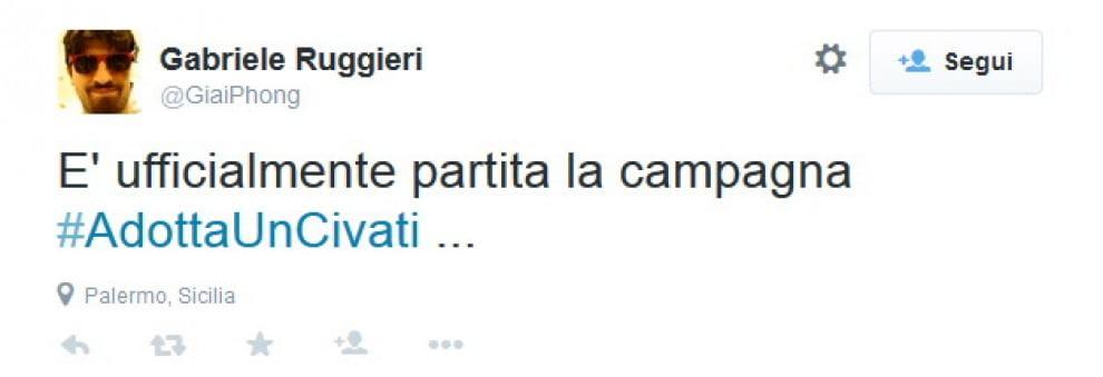 Civati lascia il gruppo Pd alla Camera: l'ironia corre su Twitter
