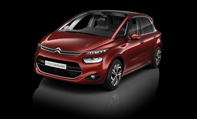 C4 Picasso, tipicamente Citroën...