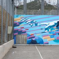 Francia, arte tra cemento e filo spinato: i murales colorano il carcere