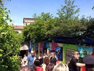 25 anni di carriera, un murale per Ligabue