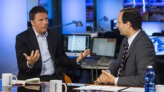 """Renzi: """"Per il Pd nessun rischio di smottamento al centro. Sinistra masochista rischia di rianimare Fi"""""""