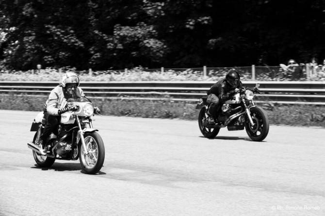Così le moto speciali hanno invaso il paddock di Monza