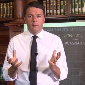 Riforma della scuola, la lettera di Renzi ai prof