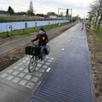 Solaroad, in Olanda energia da pista ciclabile solare