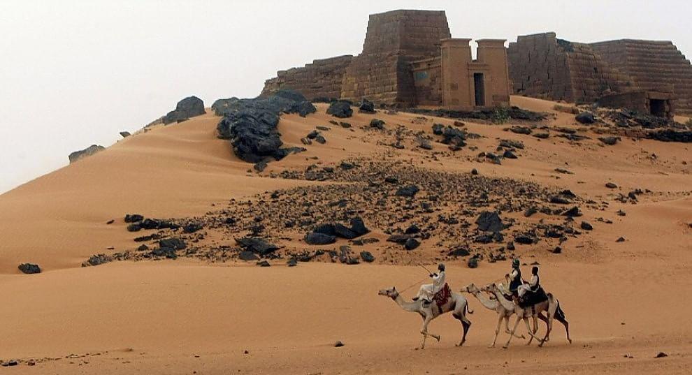 Sudan meroe la citt dei faraoni neri perduta nella for Setacciavano la sabbia dei fiumi