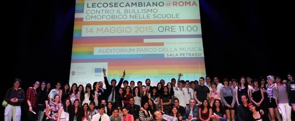 Omofobia, le cose cambiano a Roma