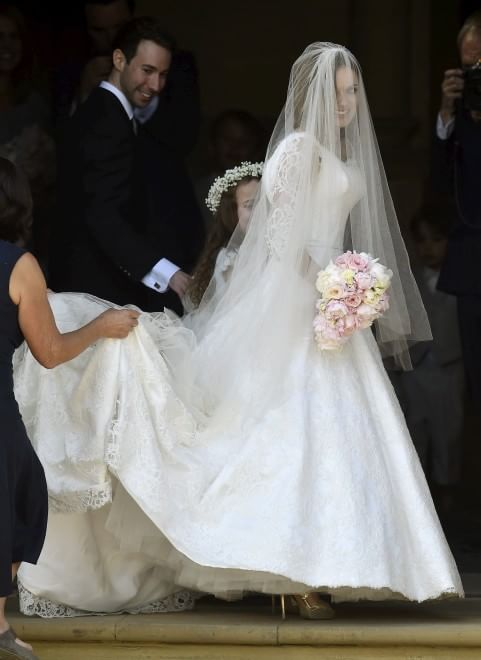Geri Halliwell va a nozze: l'ex Ginger Spice sposa Christian Horner
