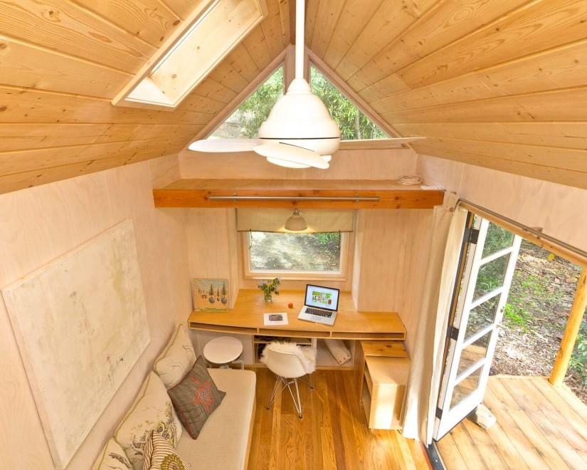 Tutto in 13 metri quadrati la casa pi piccola di una stanza - The mobile office working on two wheels ...
