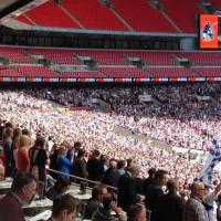 Inghilterra, in 50 mila per una partita che vale l'Eccellenza