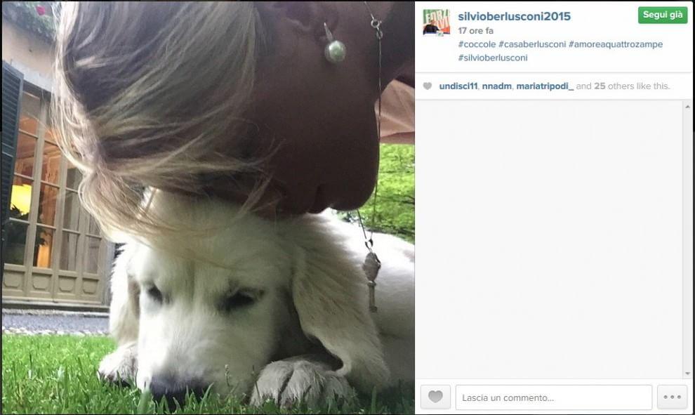 l'ex premier rilancia su Instagram