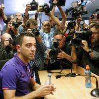 Barcellona, l'addio di Xavi Hernandez dopo 17 anni