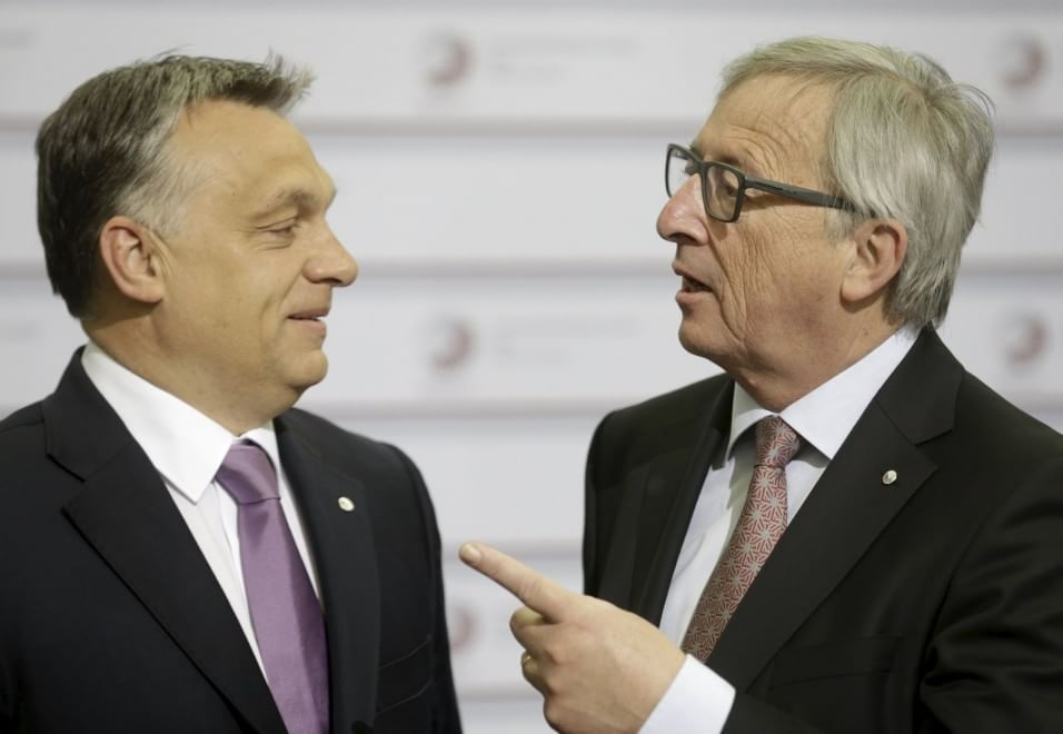 Ue, Juncker all'ungherese Orban: ''Ciao, dittatore''