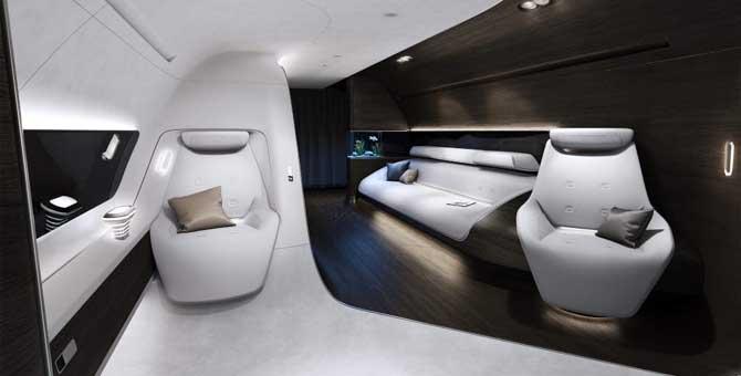 Mercedes-Benz Style e Lufthansa Technik, il lusso prende quota