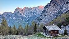 Dolomiti Friulane    foto    il volto wild dei Monti Pallidi