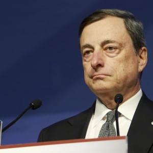 """Draghi: """"Divergenze strutturali minacciano il futuro dell'euro"""""""