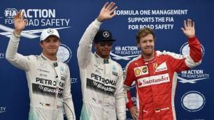 Hamilton, ancora pole Vettel rincorre Mercedes