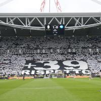 Juventus: lo Stadium rende omaggio alle vittime dell'Heysel