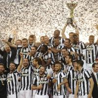 Juventus, dopo la vittoria la festa scudetto