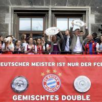 Monaco di Baviera, uomini e donne insieme per il doppio scudetto del Bayern