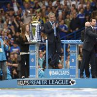 Inghilterra, la festa del Chelsea a Stamford Bridge