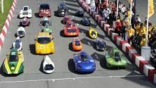 La maratona delle auto  super ecologiche-   Foto