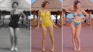 Due pezzi in 100 anni è l'evoluzione del bikini