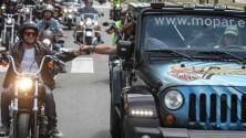 Un weekend all'insegna di Jeep ed Harley