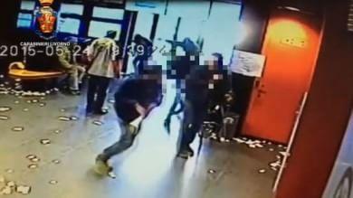 Livorno, acido sul volto di una donna arrestato 30enne /   Vd  Ripreso da camere
