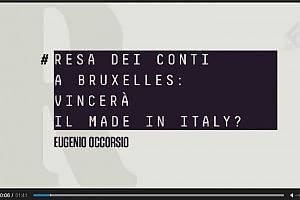 """RepTv News, Occorsio: """"La battaglia di Bruxelles per il Made in Italy vale 100 mld"""""""