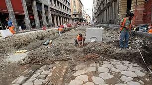 Spunta l'antica via Emilia  ma non c'è più: asfaltata di nuovo