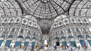 Moleskine racconta Milano Con la matita di Stanga