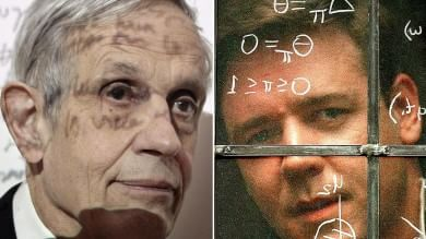 """Usa, morto il Nobel John Nash   video   genio che ispirò """"A Beautiful Mind""""   foto"""