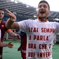 Totti e Florenzi, sfottò a Lotito dopo il derby vinto