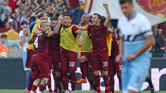 Lazio-Roma 1-2, Yanga-Mbiwa regala il 2° posto ai giallorossi