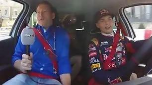 Papà Verstappen intervista figlio Giro da brividi sul circuito F1