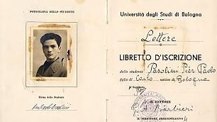 Dal libretto universitario  di Pasolini alla laurea di Pascoli    Leggi l'articolo