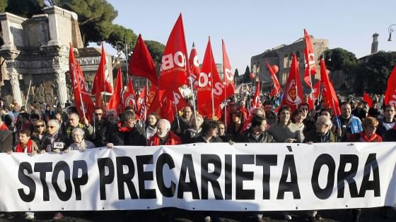 Occupazione giovanile, solo la Grecia è peggio dell'Italia