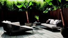 Outdoor, tre stili L'architetto consiglia